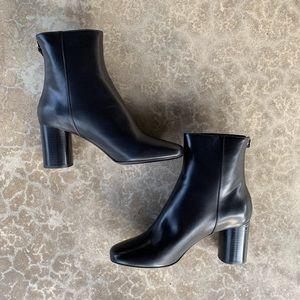 Sandro Sacha Leather Boots